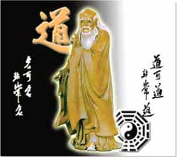 Image: Taoist symbol presented by a sage